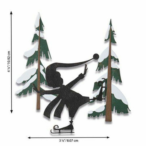 Sizzix Tim Holtz Thinlits stanssisetti Thin Ice