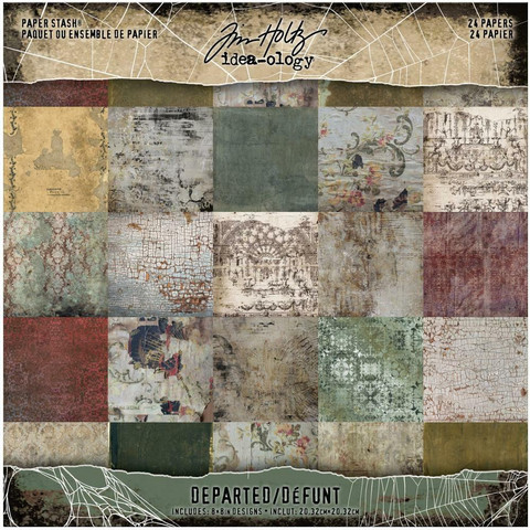 Tim Holtz Idea-Ology paperikko Departed
