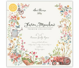 Craft Consortium Farm Meadow -paperipakkaus