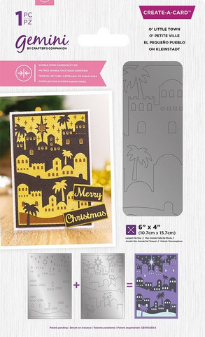 Gemini Double-Sided Create-A-Card stanssi O'Little Town