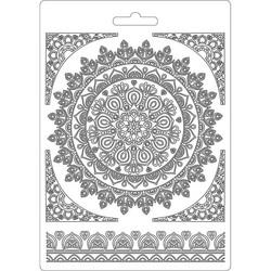 Stamperia Round Lace -muotti (tekstuurilevy)