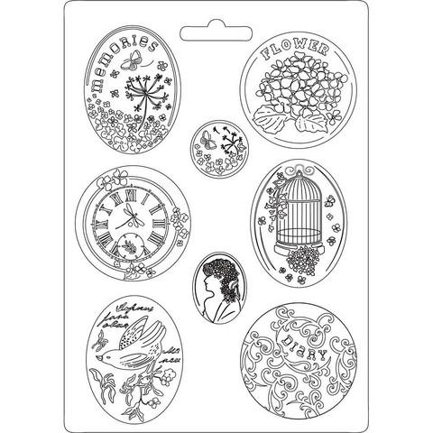 Stamperia Maxi Mould -muotti Hortensia
