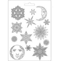 Stamperia Maxi Mould -muotti Snowflakes