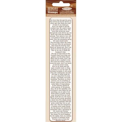 Stamperia leimasin Journal