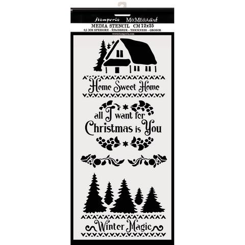 Stamperia sapluuna Winter Magic