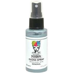 Dina Wakley Media Gloss Spray -suihke, sävy Mineral, 56 ml