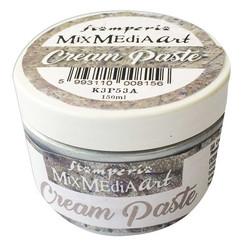 Stamperia Cream Pasta, sävy Metallic Silver