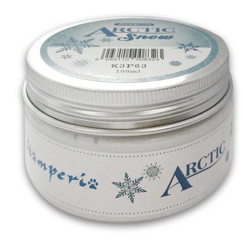 Stamperia Arctic Snow -pasta, valkoinen