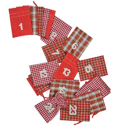 Joulukalenteri -pussukkasetti
