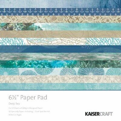 Kaisercraft paperikko Deep Sea