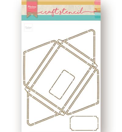 Marianne Design sapluuna Large Envelope