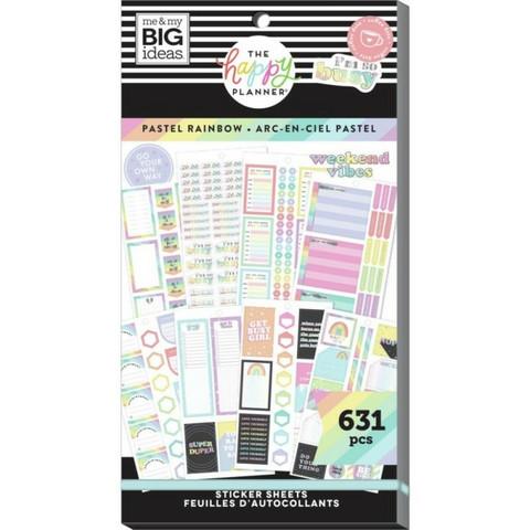 Mambi Happy Memory Keeping Value Pack -tarrapakkaus Pastel Rainbow