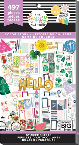 Mambi Happy Memory Keeping Value Pack -tarrapakkaus Color Story