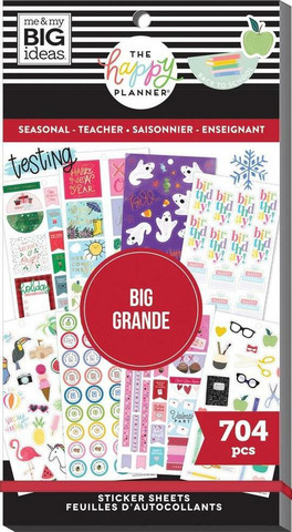 Mambi Happy Memory Keeping Value Pack -tarrapakkaus Seasonal Teacher, BIG