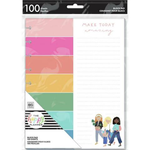 Happy Planner Block Pad -paperipakkaus, Squad Goals