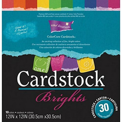 Core'dinations Core Essentials -kartonkipakkaus Brights, 12
