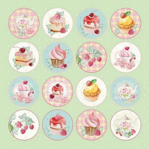Craft & You skräppipaperi Sweet Dessert 07