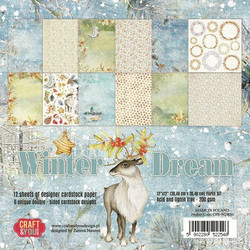 Craft & You paperipakkaus Winter Dream, 12