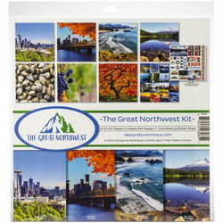 Reminisce The Great Northwest -paperipakkaus 12