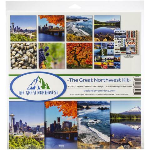 Reminisce The Great Northwest -paperipakkaus 12