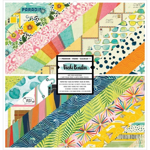 Vicki Boutin paperipakkaus Let's Wander, 12