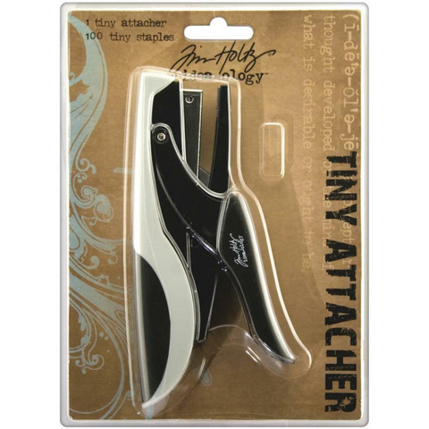 Tim Holtz Idea-Ology Tiny Attacher Stapler -nitoja