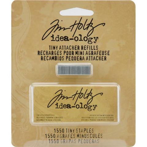 Tim Holtz Idea-Ology Tiny Attacher Stapler niitit, 1550 kpl