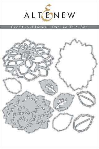 Altenew Craft-A-Flower: Dahlia -stanssisetti