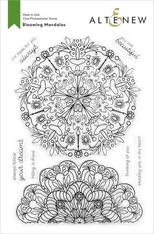 Altenew Blooming Mandalas -leimasinsetti