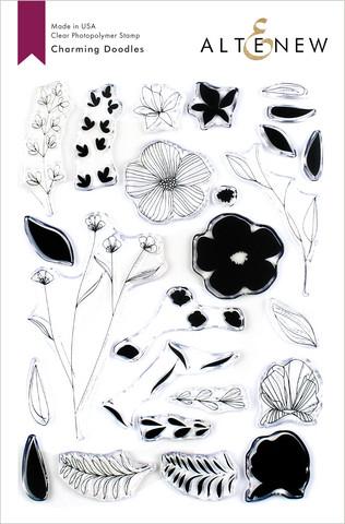 Altenew Charming Doodles -leimasinsetti