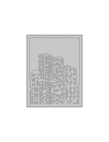 Altenew Layered Cityscape Cover B -stanssi
