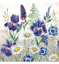 Servetti Mixed Meadow Flowers, 20 kpl