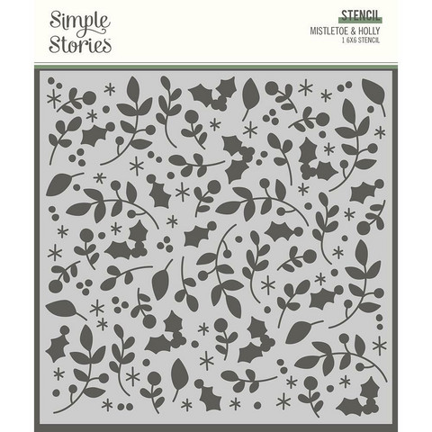 Simple Stories sapluuna Mistletoe & Holly