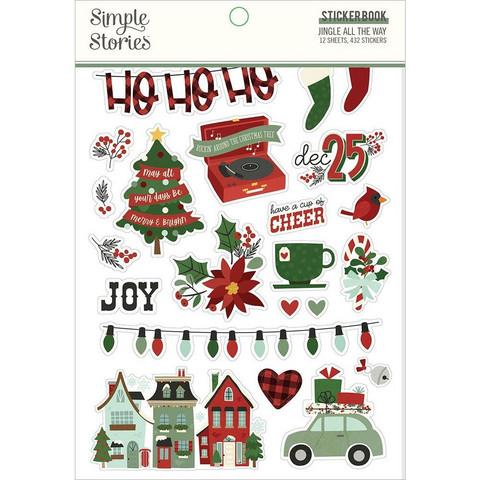 Simple Stories tarrakirja Jingle All The Way
