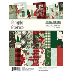 Simple Stories Jingle All The Way -paperipakkaus
