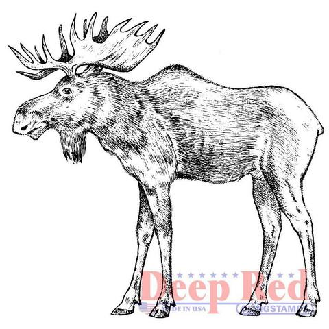 Deep Red leimasin Moose