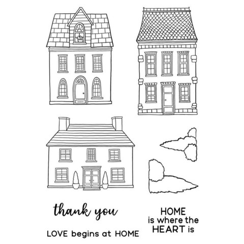 Jane's Doodles Home -leimasinsetti