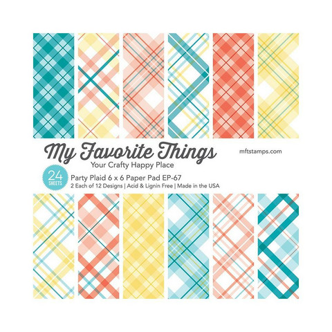 My Favorite Things Party Plaid -paperikko