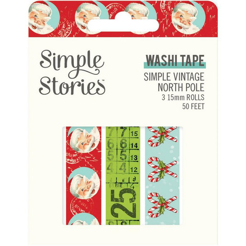 Simple Stories Simple Vintage North Pole washiteipit
