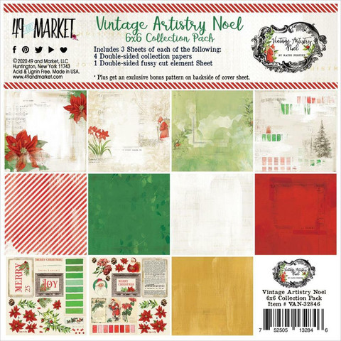49 and Market paperipakkaus Vintage Artistry Noel