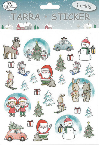 Tarra-arkki Pehmolelut joulu