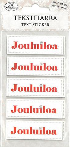 Tekstitarra Jouluiloa, 2 arkkia
