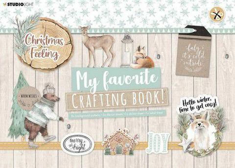 Studio Light My Favorite Crafting Book, Christmas Feeling