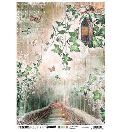 Studio Light riisipaperi Jenine's Mindful Art, Time To Relax