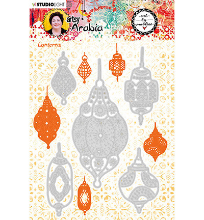 Studio Light stanssisetti Art By Marlene, Artsy Arabia, Lanterns