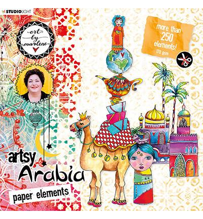 Studio Light leikekuvakirja Art By Marlene, Artsy Arabia