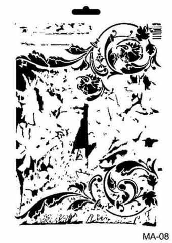 Cadence sapluuna Background Ornament, 21 x 29 cm