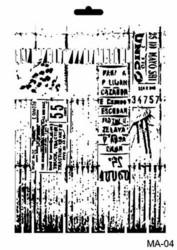 Cadence sapluuna Tickets, 21 x 29 cm