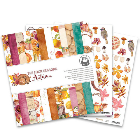 P13 paperipakkaus The Four Seasons, Autumn, 12