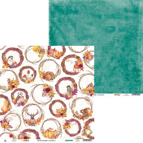 P13 skräppipaperi The Four Seasons, Autumn, 06